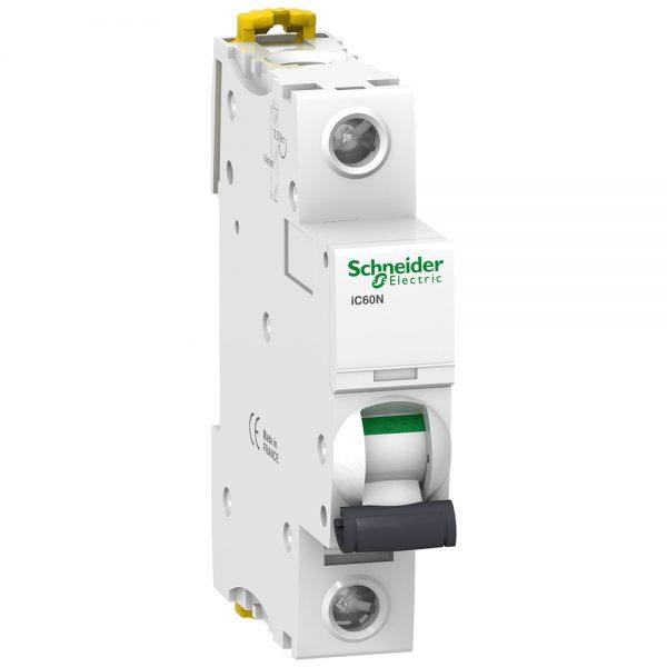 Interruptor termomagnético Acti9 1 Polo 63 A 127/220 Vca. IC60N Riel DIN