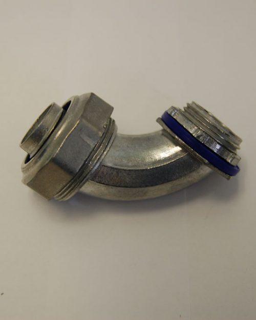 /35/mm para de oreja a t para la creaci/ón de bisagras de hierro Conector de 3/V/ías hidr/áulico estilo industrial para tubo redondo di/ámetro 28/