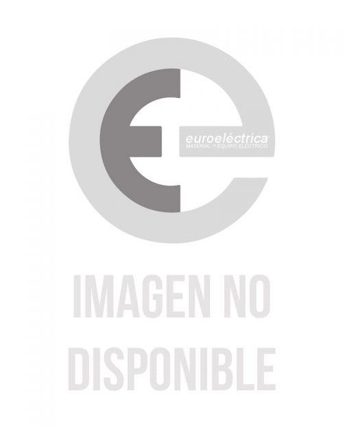Placa para tomas de corriente dúplex.  Bronce (Acabado metálico)