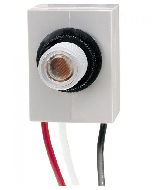 Control fotoeléctrico térmico de botón, 208-277 V