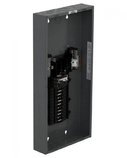 Caja con interior para centro de carga de 27 polos. 100 A. trifásico. Con interruptor principal