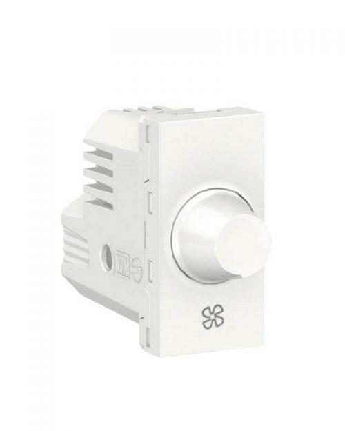 Control de velocidad para ventilador, 150W 127Vca. Blanco
