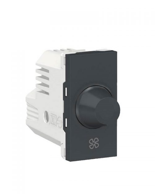 Control de velocidad para ventilador, 150W 127Vca. Grafito