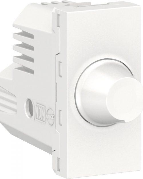 Dimmer giratorio para lamparas, 150W 127Vca. Blanco