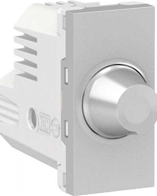 Dimmer giratorio para lamparas LED, 150W 127Vca. Blanco