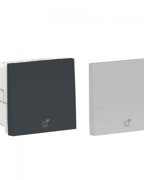 Dimmer pulsado digital. 500W 127Vca. Aluminio/Grafito