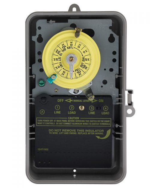 Interruptor de temporizador mecánico de 24 horas