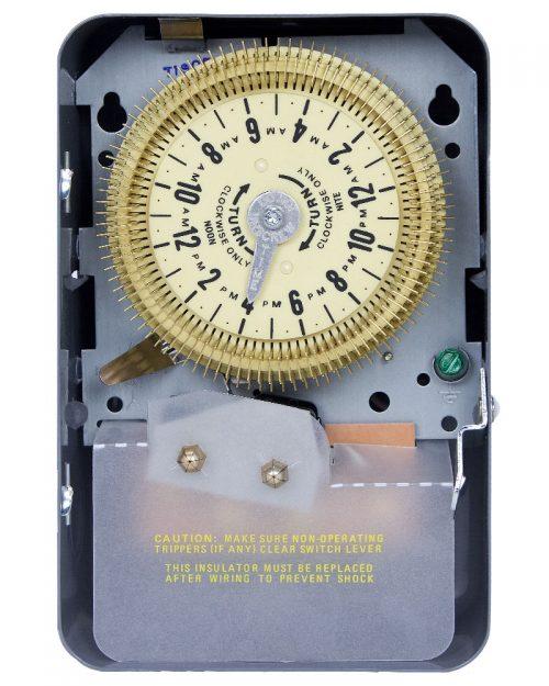 Interruptor de temporizador mecánico de 24 horas con intervalo de 15 minutos