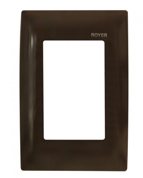 PLACA TIPO NEMA CHOCOLATE | ROYER 100