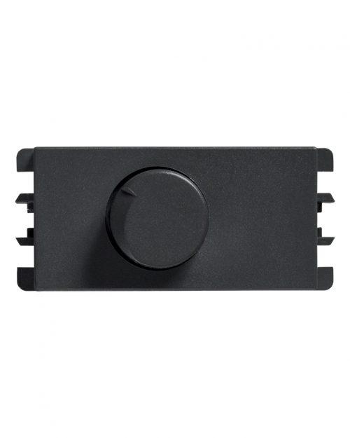 DIMMER ROTATIVO P/LED 300W GRAFITO S26 | Simon 26 | CODIGO 2600313-038