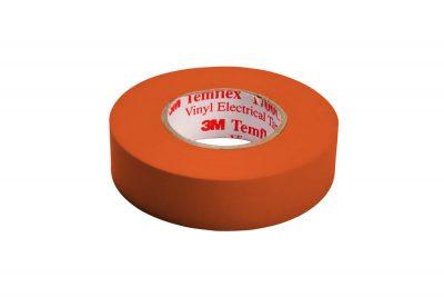 1700C NARANJA  CINTA PVC TEMFLEX 1700 COLOR NARANJA CON DIMENSIONES DE 19 MM X 20.1 METROS, MARCA 3M