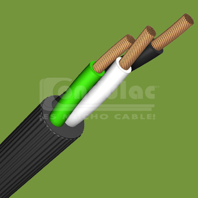 CABLE USO RUDO DE 2 CONDUCTORES CALIBRE 18 AWG, 60°C, 300 V, CONDULAC