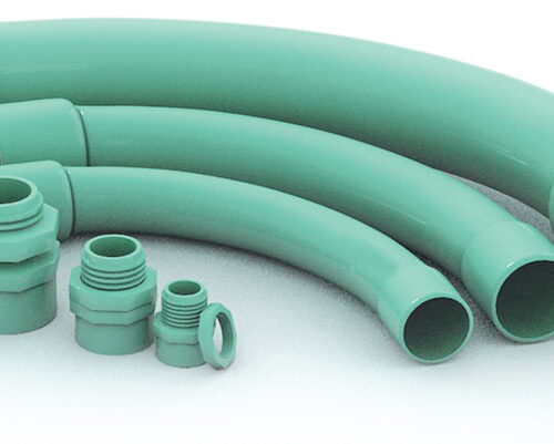 CODO PARA TUBO CONDUIT DE PVC PESADO 32MM. (11/4)