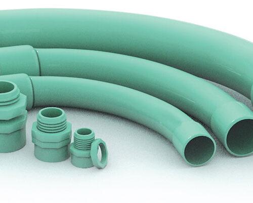 CODO PARA TUBO CONDUIT DE PVC LIGERO 51MM. (2)