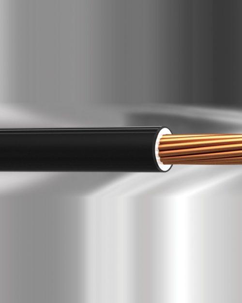 CABLE TFLS VINANEL-XXI CAL. 18 AWG. 600V. 90°C COLOR NEGRO MCA. CONDUMEX (CARRETE)