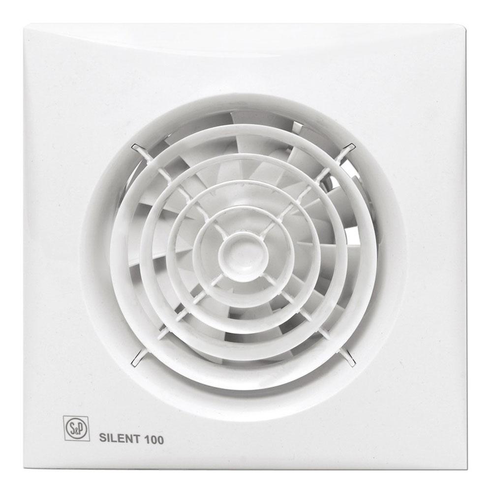 Ventilador de ventilaci/ón de Montaje en Pared s/úper silencioso Crisis Extractor de ba/ño para Cocina y ba/ño para Dormitorio