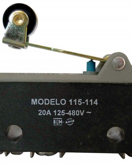 115-052 | MICRO INTERRUPTOR BASICO C/BOTON PULSAR 15A 480V | ARROW HART