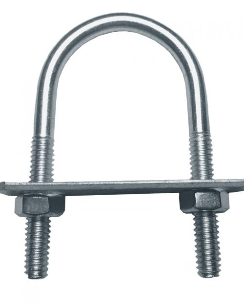 "Abrazadera Roscada U 120 de 25 mm ( 1 "" )   | ANCLO"