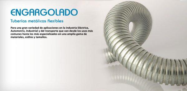 TUBO FLEXIBLE DE ACERO DE 32 MM (1 1/4) MARCA TUBOS MEXICANOS FLEXIBLES