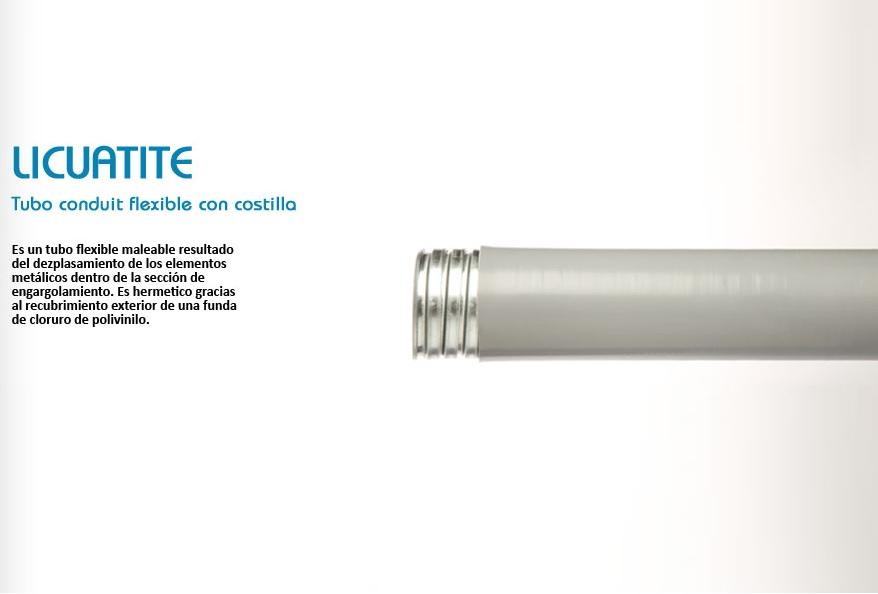 TUBERIA,TUBO FLEXIBLE DE PVC DE 32 mm de diametro exterior