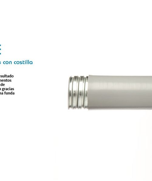 TUBO FLEXIBLE DE ACERO FORRADO DE PVC (LICUATITE) DE 25 MM (1) MARCA TUBOS MEXICANOS FLEXIBLES