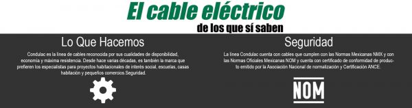 CABLE CON AISLAMIENTO TIPO THW 10 AWG, 90° 600V. COLOR BLANCO, MCA. CONDULAC (CARRETE)
