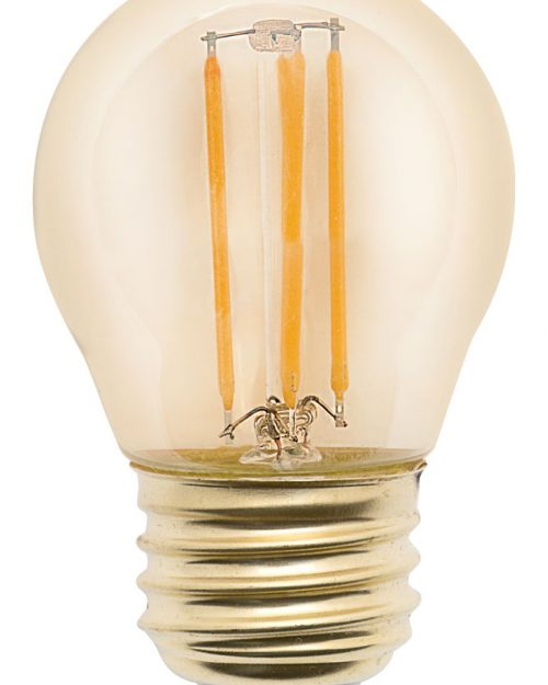 LAMPARA DE LEDS DIMEABLE 4W TIPO G45 BLANCO CALIDO 2700K IPSA