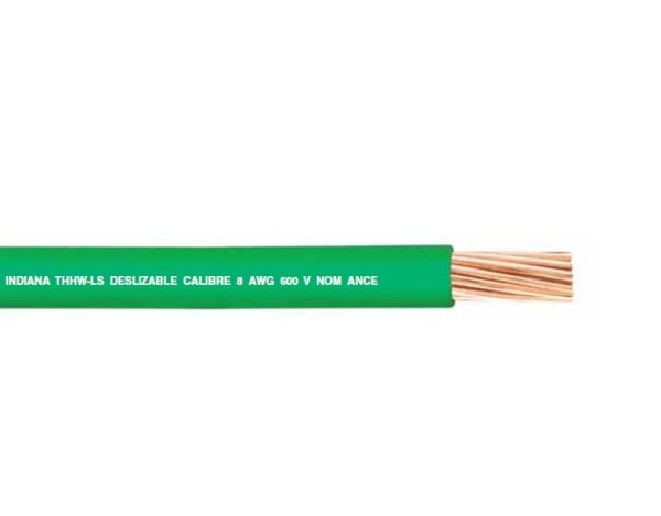 CABLE DE COBRE TIPO THW DE CAL. 18 AWG 600V. | INDIANA