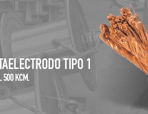 CABLE PORTA ELECTRODO CALIBRE 1/0 AWG | IKURA