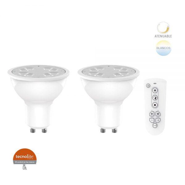LAMP LED GU10  5W100-240V2700-6500K350LM