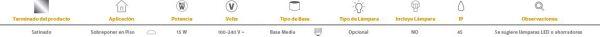 Almodovar   EXTERIOR MINI POSTES S/L100-240VE27   Tecnolite