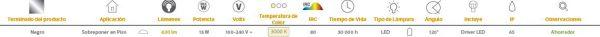 Obelix II | EXTERIOR MINI POSTES 13W100-240V3000K | Tecnolite