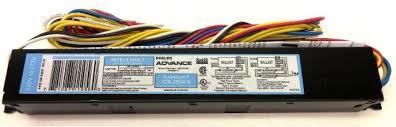 Balastro Electrónico 4X54W T5 Encendido Programado 120-277V Soporta Hasta 90°