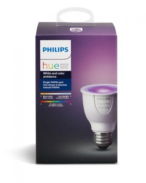 PHILIPS HUE 6.5W PAR16 DIM 120V COLORES