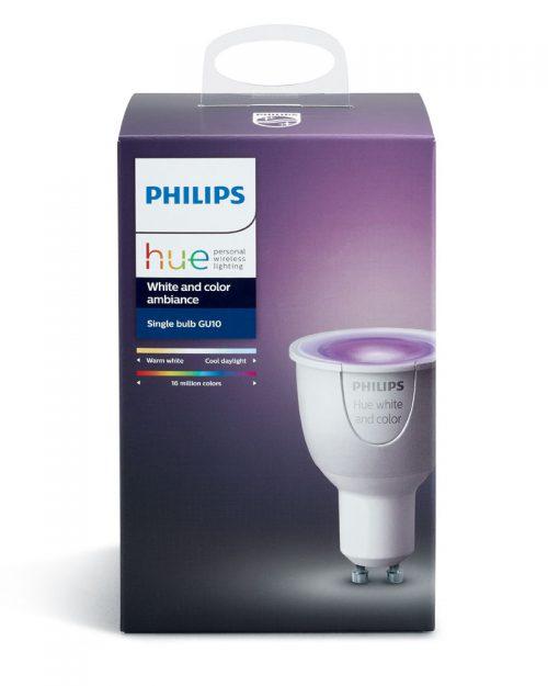 PHILIPS HUE 6.5W GU10 DIM 120V COLORES