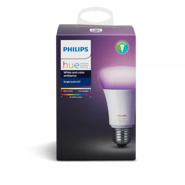 PHILIPS HUE LAMPARA 10W A19 E26 COLORES