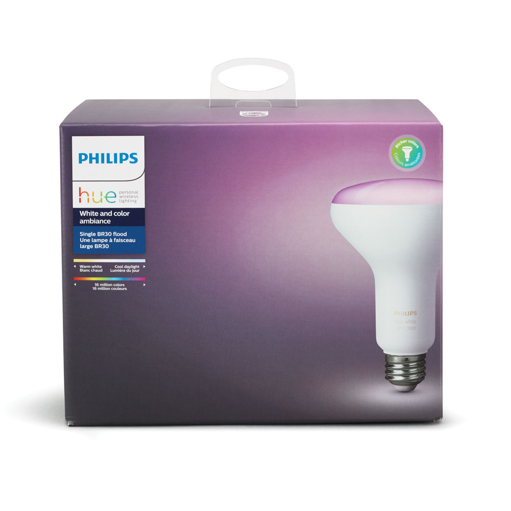 PHILIPS HUE PAR30 9W BR30 E26 COLORES